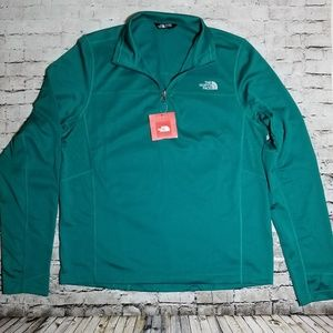 The North Face FlashDry 1/4 zip pullover sweater L